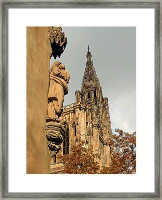 Our Lady Of Strasbourg Framed Print