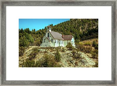 Our Lady Of Tears Catholic Church Framed Print