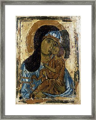 Our Lady Of Tenderness Framed Print by Granger