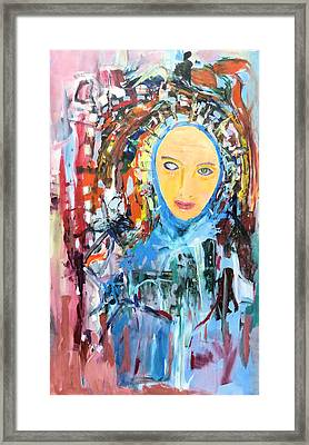 Our Lady Of The Left Eye Framed Print