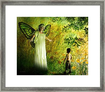 Our Lady Of The Meadow Framed Print