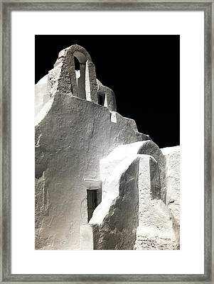 Our Lady Of The Side Gate Infrared Framed Print by John Rizzuto