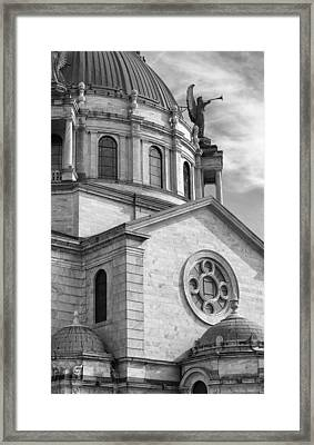 Our Lady Of Victory Basilica Framed Print