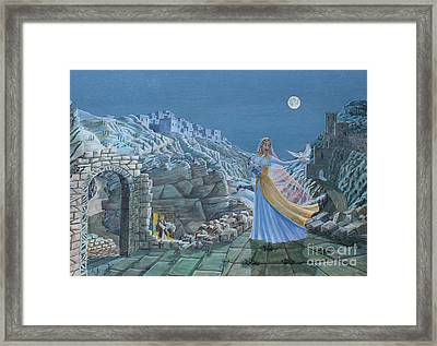 Our Lady Queen Of Peace Framed Print