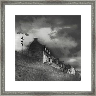 Our Lady Wall Maastricht Framed Print by Nop Briex