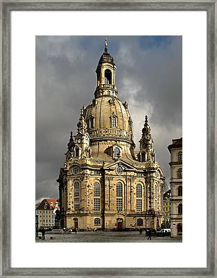 Our Lady's Church Of Dresden Framed Print by Christine Till