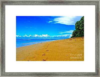 Framed Print featuring the photograph Our Little Secret by DJ Florek