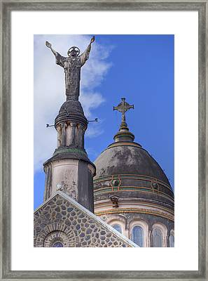 Our Lord Framed Print by Jon Glaser
