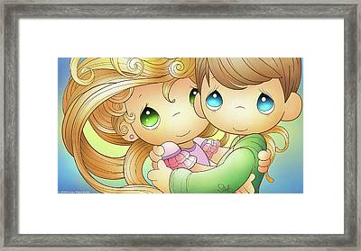 Our Love Is Always Framed Print by Precious Moments