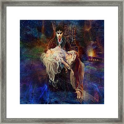 Framed Print featuring the painting Our Love Is Forever by Steve Roberts
