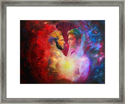 Our Love Was Meant To Be Framed Print by Michael Durst