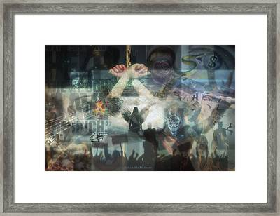 Our Monetary System  Framed Print by Eskemida Pictures