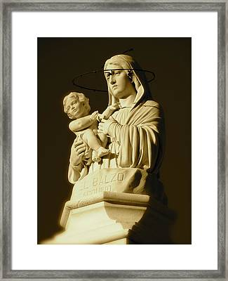 Our Mother Framed Print by Barbara Palmer