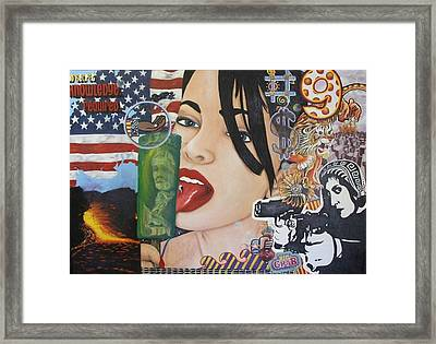 Our New World Order Framed Print by Randy Segura