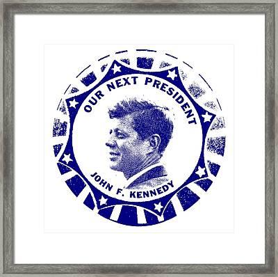 Our Next President Framed Print
