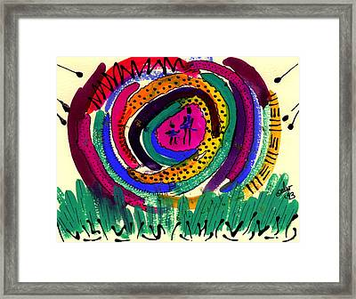 Our Own Colorful World I Framed Print