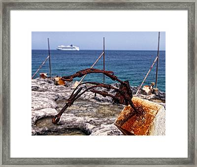 Our Presence 2 Framed Print by Victor Yekelchik