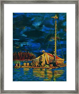 Our Raft Framed Print by Rick Ritchie