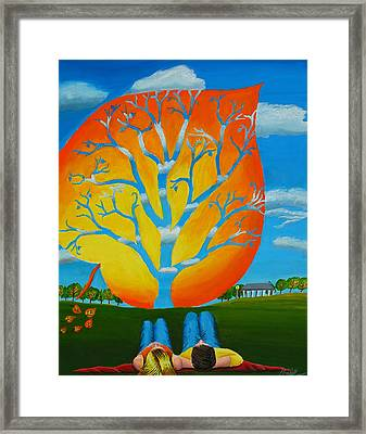 Our Seasons Winds Framed Print