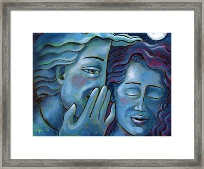 Our Secret Painting 49 Framed Print