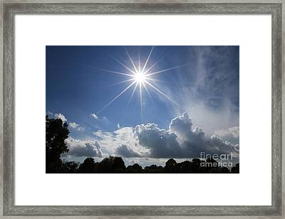 Our Shining Star Framed Print