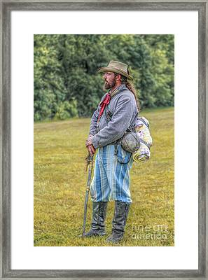 Our Southern Heritage Framed Print by Randy Steele