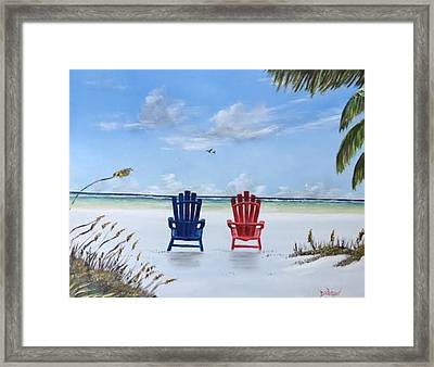 Our Spot On Siesta Key Framed Print