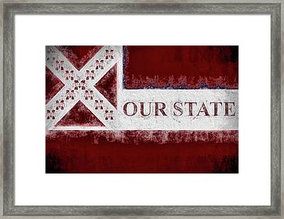 Our State Framed Print by JC Findley