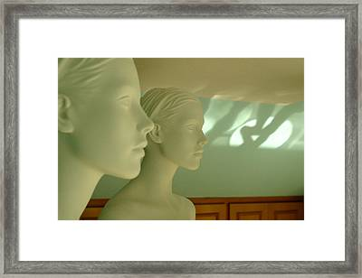 Our Thoughts Framed Print by Jez C Self