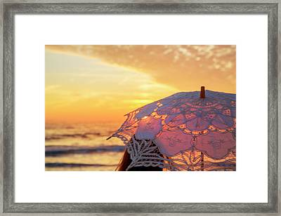 Time Is Running Out Framed Print by Betsy Knapp