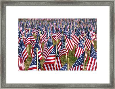 Our Unforgotten Freedom Framed Print