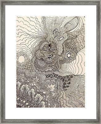 Our Universes Framed Print by Malcolm Smith
