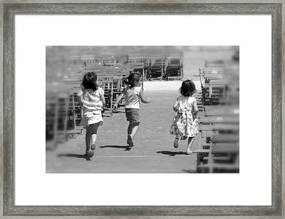 Our World 2 Framed Print by Jez C Self