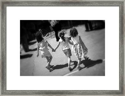 Our World Framed Print by Jez C Self