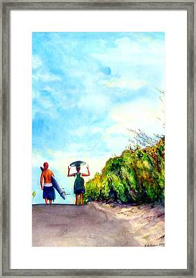 Our World Framed Print by Kathy Dueker