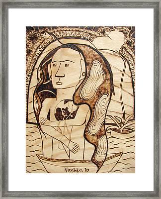 Our World No.6 - The Awaken Framed Print by Neshka Muchalska