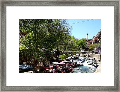 Framed Print featuring the photograph Ourika Valley 1 by Andrew Fare