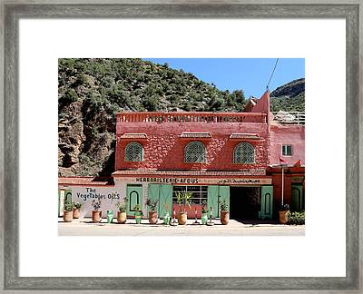 Framed Print featuring the photograph Ourika Valley by Andrew Fare