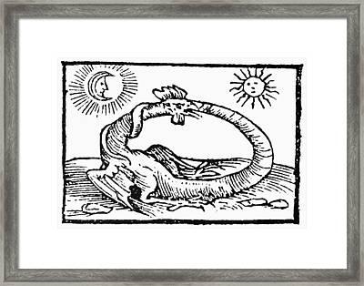 Ouroboros, 1597 Framed Print by Granger