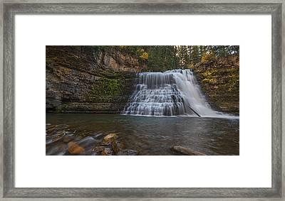 Ousel Falls Framed Print