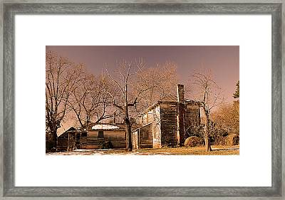 Out Back Framed Print by Patricia Motley