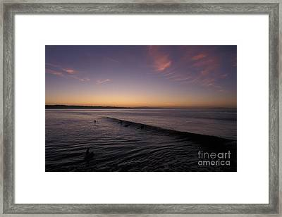 Out Before Dawn Framed Print by Stan and Anne Foster