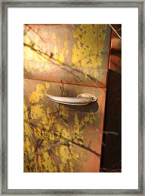 Out Doors Framed Print by Maureen Norcross
