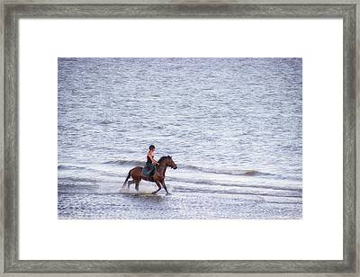 Out For A Gallop Framed Print