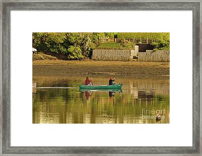 Out For A Paddle Framed Print
