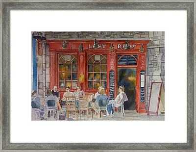 Out For A Pint Framed Print by Victoria Heryet