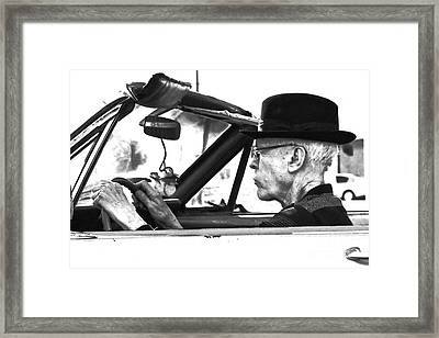 Framed Print featuring the photograph Out For A Spin by Joe Jake Pratt