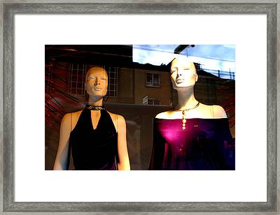 Out For The Evening Framed Print by Jez C Self