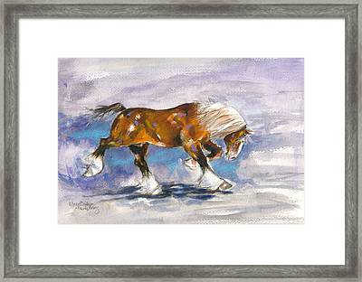 Out Front Framed Print by Mary Armstrong