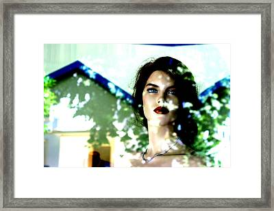 Out In A Few Days Framed Print by Jez C Self